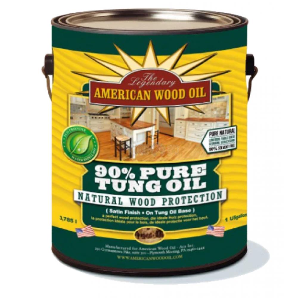 American Wood Oil Pure Tung Oil 90% Тунгового Масла