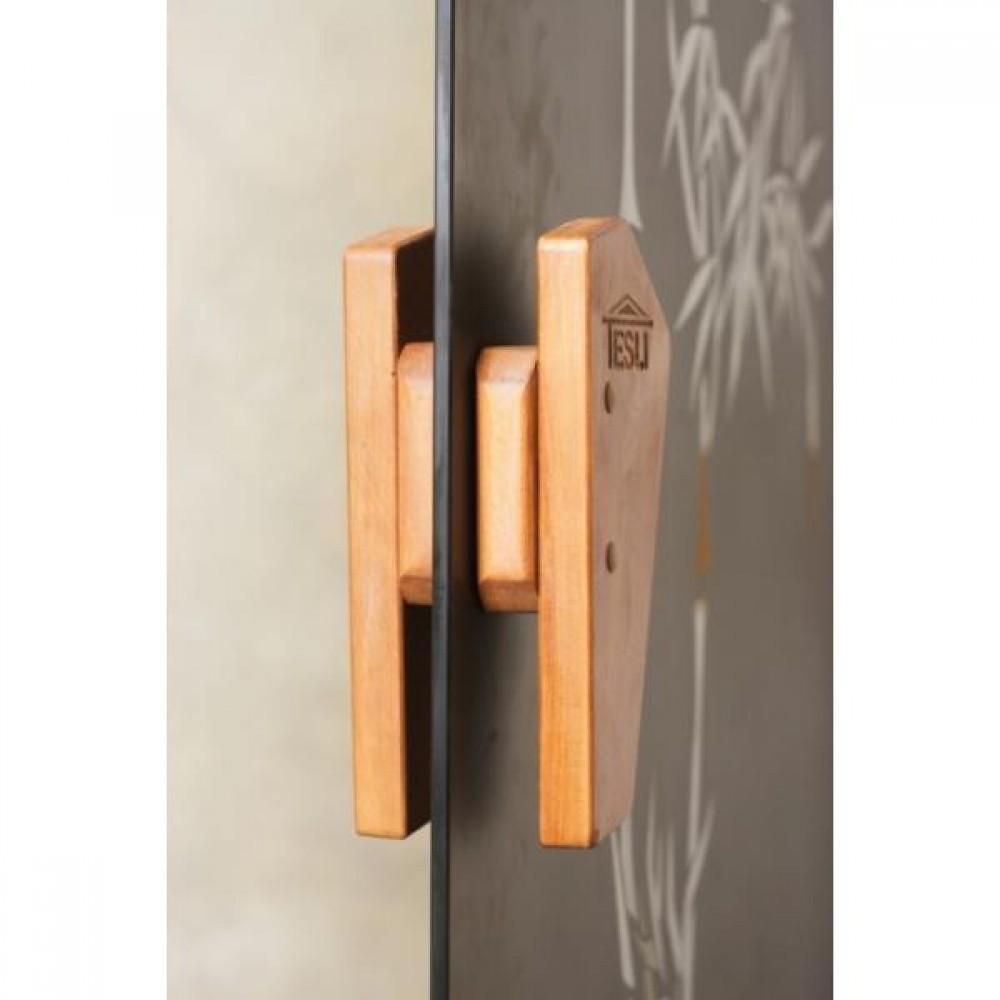 Дверь для сауны и хаммама Tesli Сезам 2050 х 800