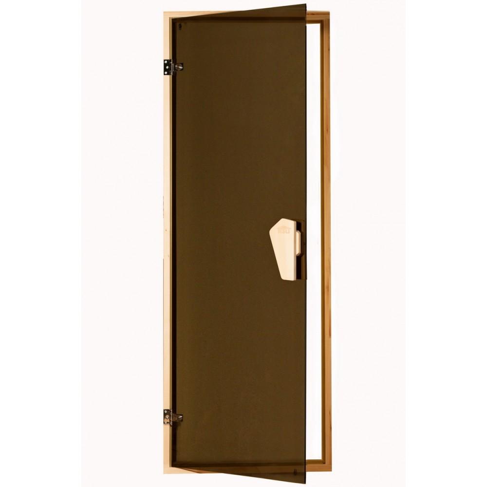 Дверь для бани  и сауны Tesli Sateen 1800 x 700