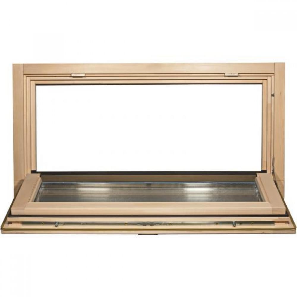 Окно для сауны Tesli откидное 1000 х 500