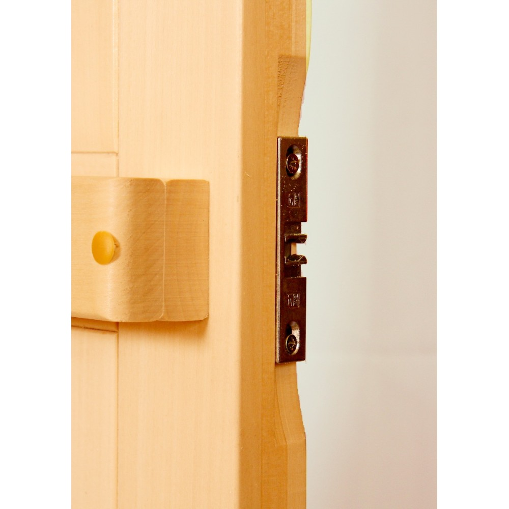 Дверь для бани и сауны Tesli Глухая -Л 1900 х 700