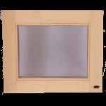 Деревянные окна для бани и сауны