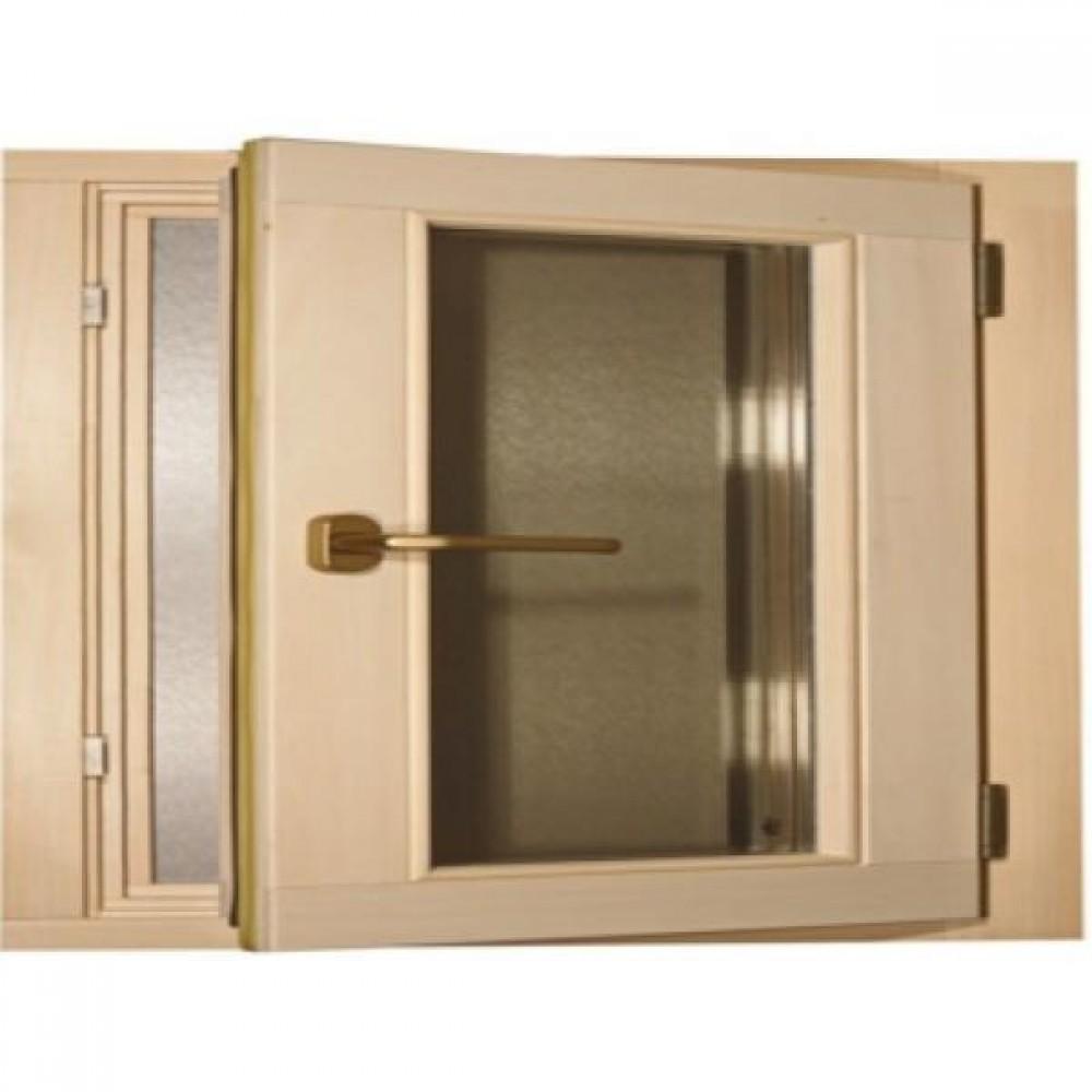 Окно для сауны Tesli поворотное 600 х 500