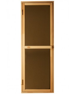 Дверь для бани и сауны Tesli Bravo Sateen 1900 х 700
