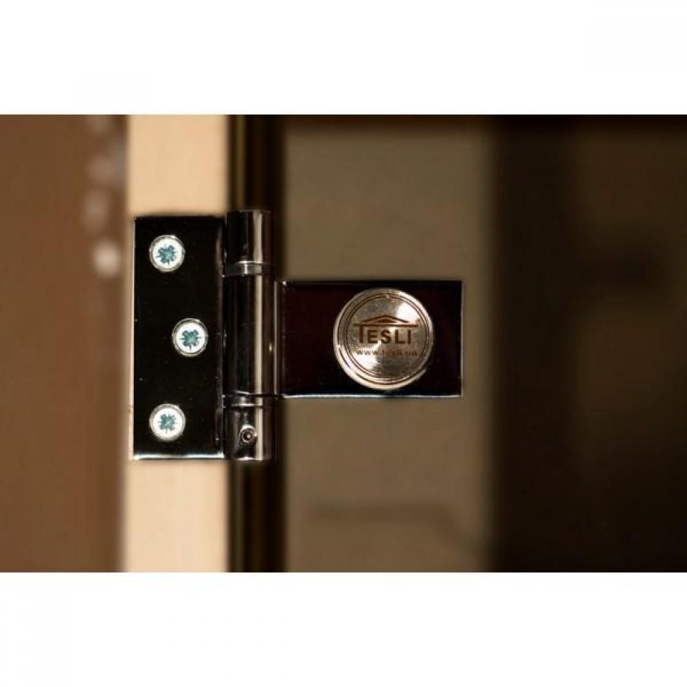 Дверь для бани и сауны Tesli Sateen 1900 x 700