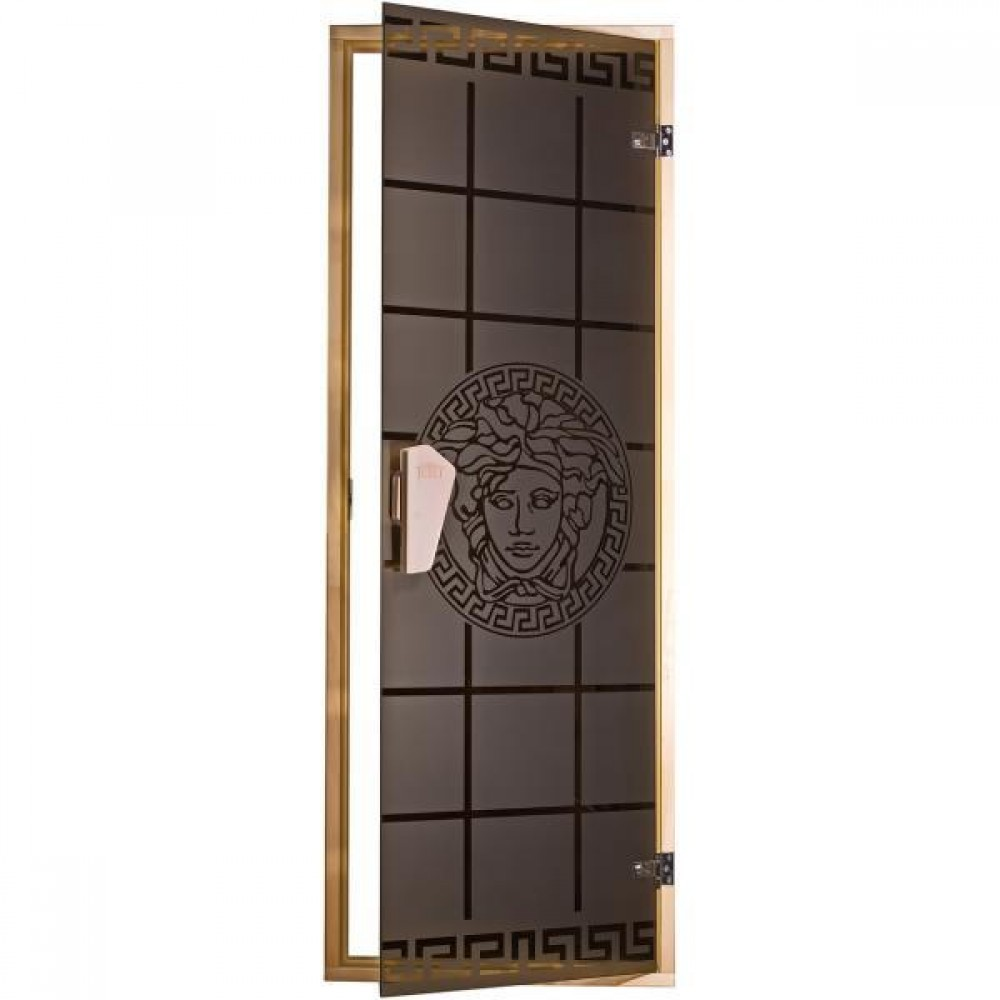 Дверь для бани и сауны Tesli Горгона 1900 х 700