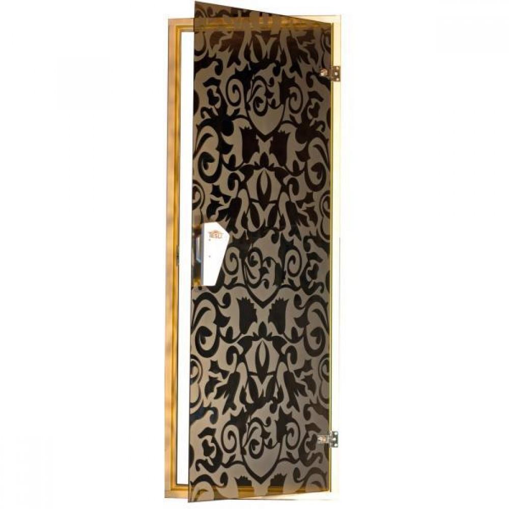 Дверь для бани  и сауны  Tesli Царские 1900 х 700