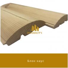 Блок-хаус Сосна сорт А-В 40х135 мм