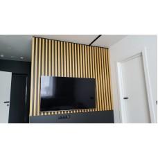 Декоративная рейка 30х40 на стену и потолок