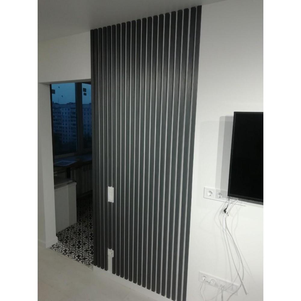 Декоративная рейка 40х50 для перегородок и стен