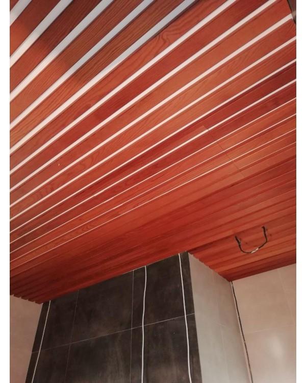 Декоративная рейка 20х50 на стену и потолок