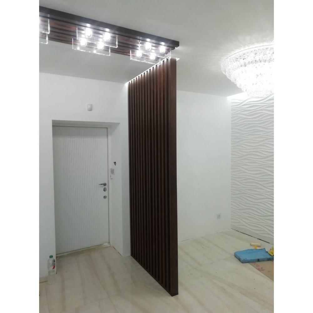 Декоративная рейка 20х30 на стену и потолок