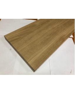 Мебельный щит цельноламельный Дуб 18 мм сорт В-С