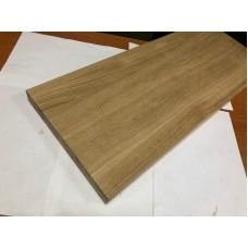 Мебельный щит цельноламельный Дуб 18 мм сорт А-В