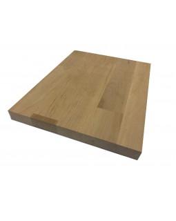 Мебельный щит Ольха Срощенный 38 мм сорт А-В