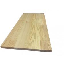 Мебельный щит Сосна Срощенный 38 мм сорт А-В