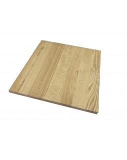 Мебельный щит цельноламельный Сосна 18 мм сорт В-С
