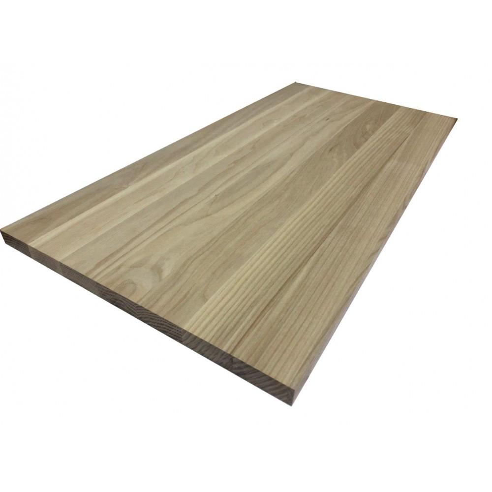 Мебельный щит  цельноламельный Ясень 18 мм сорт В-С