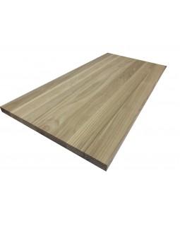 Мебельный щит  цельноламельный Ясень 18 мм сорт А-В