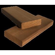 Палубная доска гладкая Термососна сорт А-В 30х105 мм